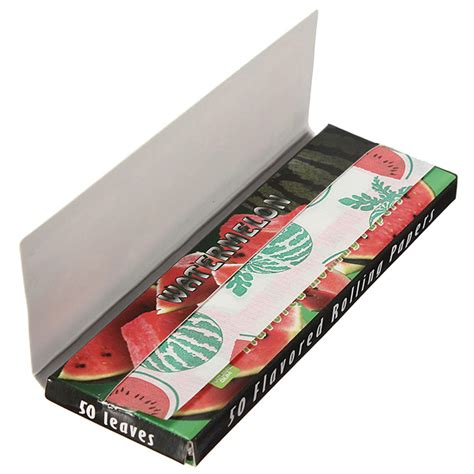 How To Make Rolling Paper Glue - hornet watermelon flavored cigarette rolling papers 50