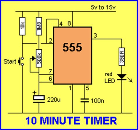 capacitor led delay chip data