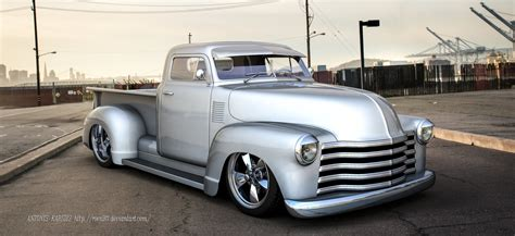 Chevy Truck 50s 50s chevy truck by roen911 on deviantart