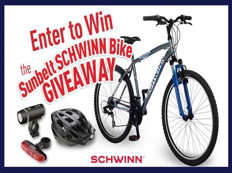 Sweepstakes Expiring Soon - expiring soon win a schwinn bike from sunbelt bakery blissxo com