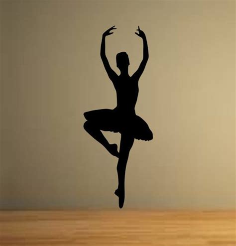 Etsy Wall Stickers ballet dancer dancing ballerina wall decor vinyl decal