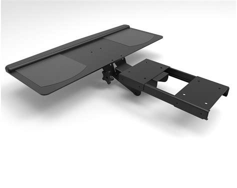 Swivel Keyboard Tray Desk pc keyboard swivel tray studio desk home