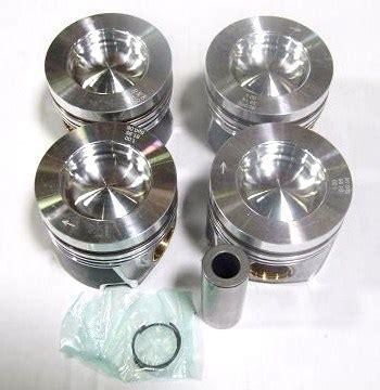 Piston Forged Brt54 5 Mm Pin 13 2 0 tdi piston set standard or oversized 05 16 beetle