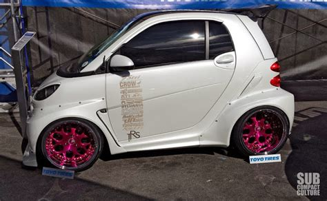 pimped out smart car the small cars from the 2013 sema show subcompact