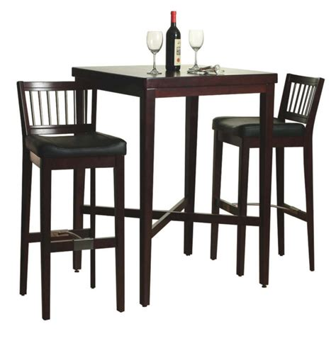 Kitchen Table And Bar Stools Bar Tables And Chairs Sets Marceladick