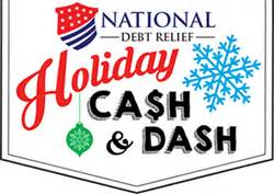 Sweepstakes Begins - national debt relief s holiday cash and dash sweepstakes begins today