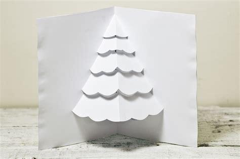 eine popup karte fuer einen weihnachtsbaum basteln wikihow