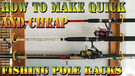How To Build A Fishing Pole Rack by The 10 And 10 Minute Fishing Fishing Pole Rack How To