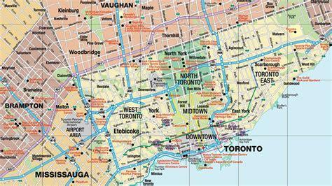 map of toronto magazines guides maps tourism toronto