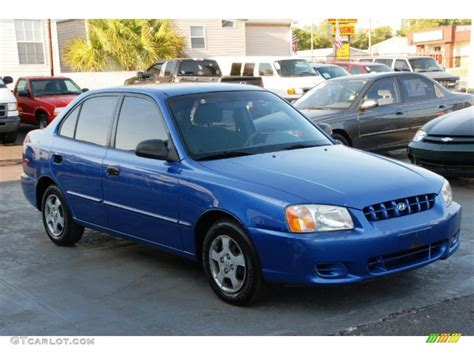 Hyundai Accent 2002 by Coastal Blue 2002 Hyundai Accent Gl Sedan Exterior Photo