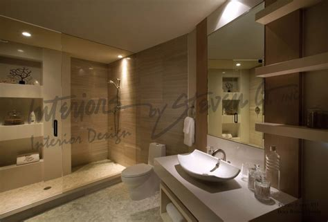 modern bathroom interior interiors by steven g modern bathroom miami by