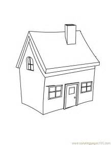 coloring pages small home architecture gt houses free