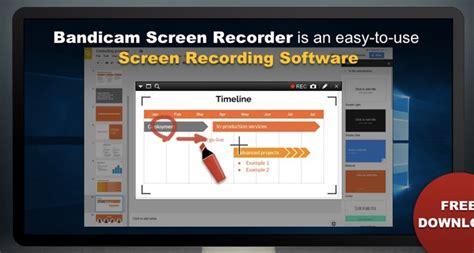 bandicam screen recorder full windows 7 screenshot 10 best free screen recording apps for windows 10