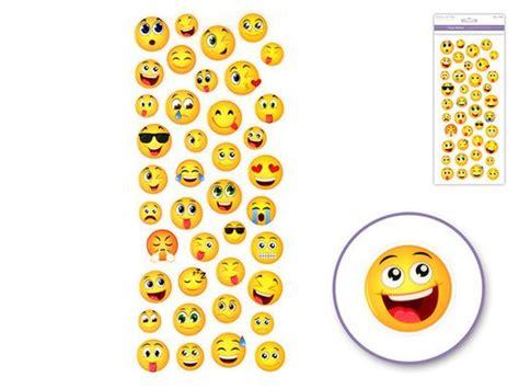 Rustic Wedding Decor Wholesale Small Happy Face Emoji Icon Stickers Round Messenger Diy