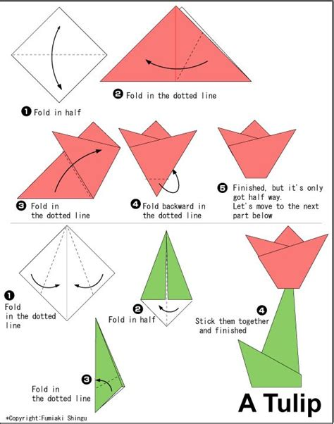 Easy Ways To Make Origami - 25 best ideas about easy origami flower on