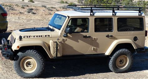 desert tan jeep liberty jeep africa concept what it s like to drive first