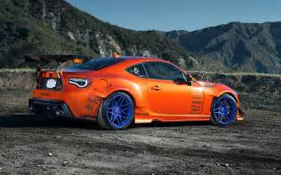 Mountain Toyota Toyota 86 Scion Fr S Tuning Widebody Spoilers Orange Style