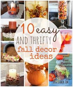 fall decorations to make at home 10 thrifty fall home decor ideas to create