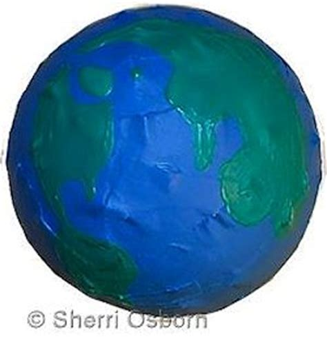 How To Make Paper Earth - 5 easy earth crafts for earth day
