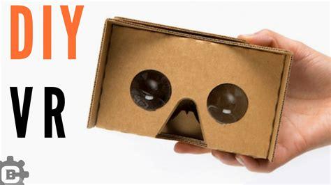Cardboard Vr how to make vr cardboard easy vr headset at home