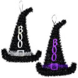 Led Light Decorations Bulk Tinsel Witch Hat Decorations 15 5 In At Dollartree Com