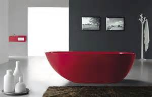 red bathtubs gorgeous red freestanding bathtub from bella stone digsdigs