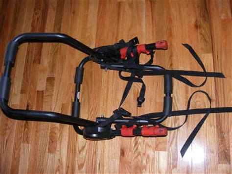 Bell Rear Bike Rack by Bell 2 Bike Bicycle Rack Rear Mount W Straps For Car