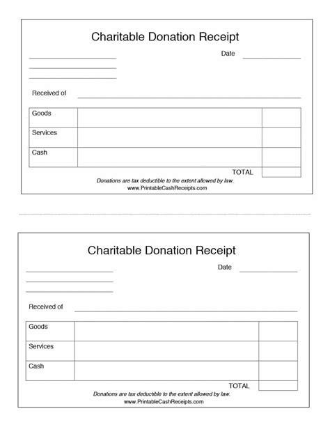 donation receipt template free donation receipt template sample
