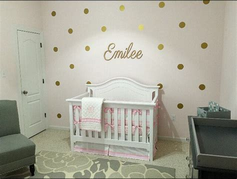 gold wallpaper nursery baby girl nursery gold nursery gold polka dots decals wall