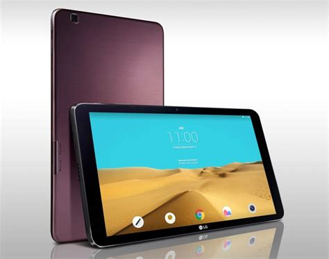 lg android tablet lg g pad ii 10 1 android tablet gets official