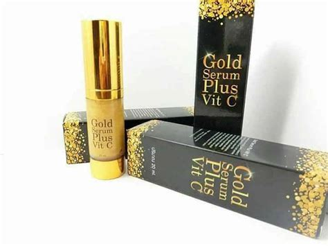 Serum Collagen Plus Vit C E gold serum plus vit c by forever thailand best