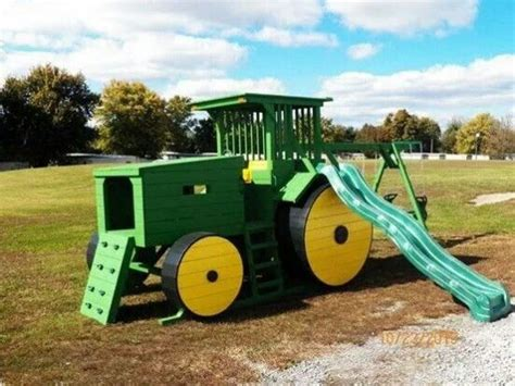 john deere swing set john deere tractors tractors and john deere on pinterest