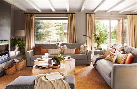 decorar salon tonos marrones cortinas cortinas para tu sal 243 n o dormitorio telas e