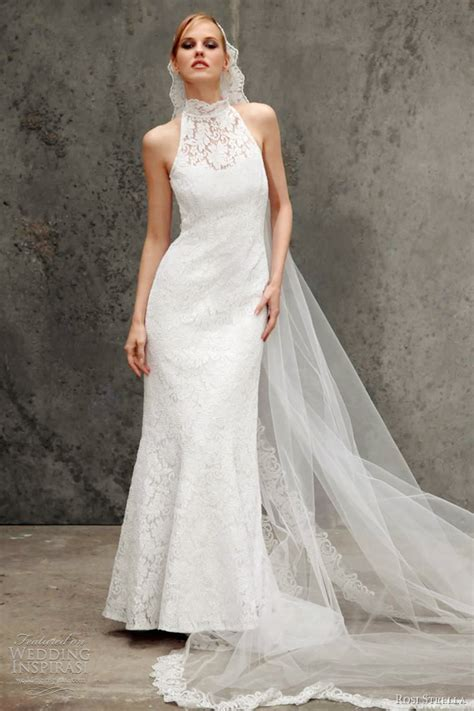 Halter Neck Wedding Dress by Rosi Strella 2012 Wedding Dresses Wedding Inspirasi