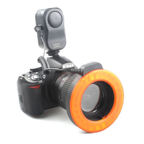 w48 led macro ring lighting l light for nikon d7100 d3100 d5100 d60 d80 w 48 ebay