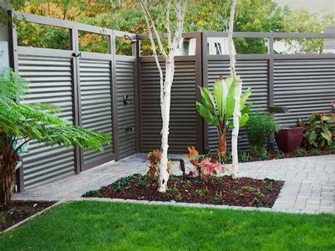 backyard fence design fence ideas for small yard ayanahouse