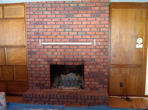 beautiful reface brick fireplace on reface reface