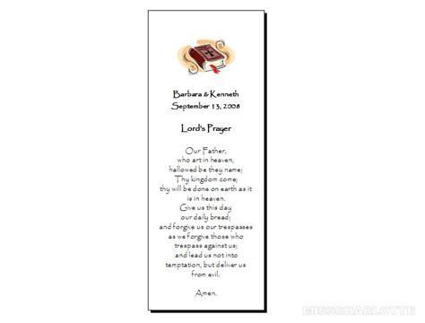 printable prayer bookmarks 7 best images of free wedding printable bookmarks free
