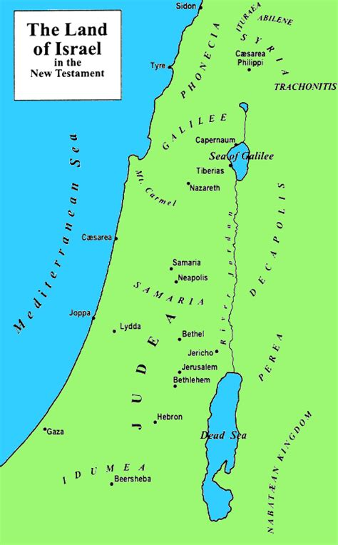 map of new testament jerusalem learn to read luke effectively maps page