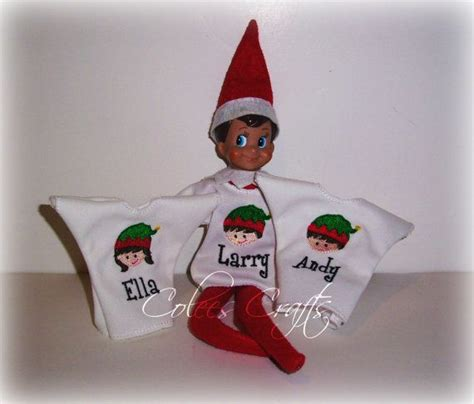 How Is On The Shelf Doll by On The Shelf Doll Shirt By Coleescrafts On Etsy 15