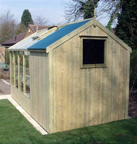 Shed Greenhouse Combination by Greenhouse Shed Combination 10 X 6 With Free Installation