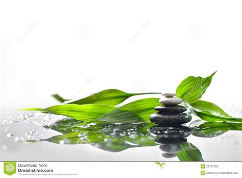 imagenes de piedras zen piedras del zen y bamb 250 verde imagen de archivo imagen