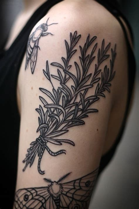 awesome 3d realistic marijuana plant tattoo on right shoulder