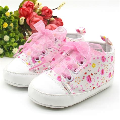 flower shoes toddler 0 12m baby crib floral shoes toddler soft sole anti