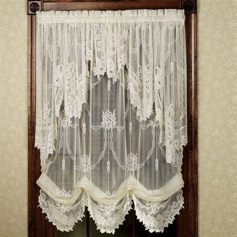 Creative Ideas Lace Curtains Easy Style Carly Lace Curtain