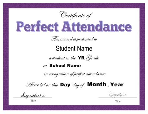 certificate of attendance template microsoft word 2018 certificate of attendance fillable printable pdf