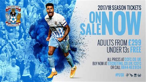 Sale Season Is Starting by Season Tickets Coventry City Released A Q A Ahead Of