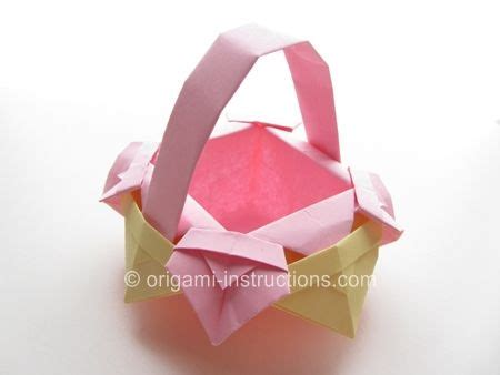 How To Make Paper Basket Origami - origami basket origami scatole