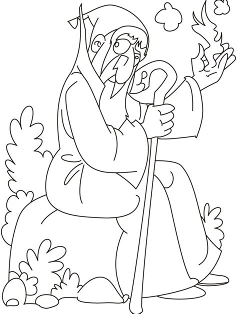 Wizard Coloring Pages Dark Wizard Coloring Pages Coloring Coloring Pages by Wizard Coloring Pages