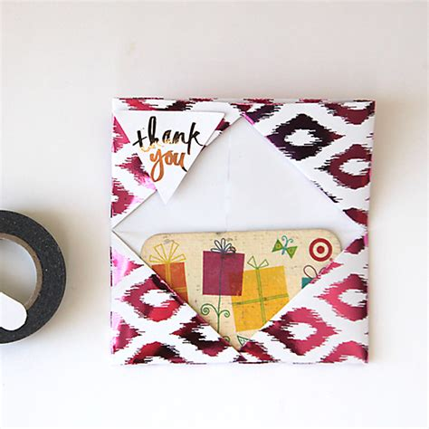 How To Make Gift Card Holders Out Of Paper - easy diy gift bag boxes and gift card holder it s